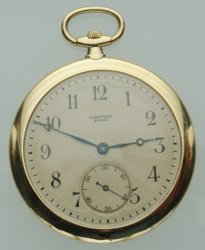 Help have recently inherited a cartier pocket watch | NAWCC
