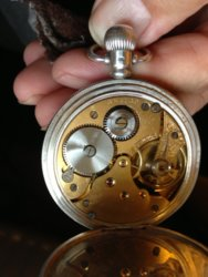 Silver pocket watch movement #654169.JPG