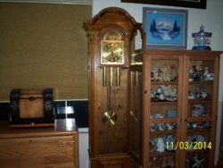 Unknown Grandfather Clock with URGOS Movement | NAWCC Message Board
