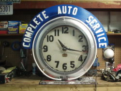 need help restoring a cleveland neon clock - wiring | nawcc forums  nawcc forums - national association of watch and clock collectors