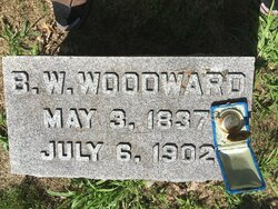 BW Woodward Headstone & Watch.JPG