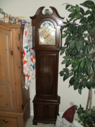What is age of Ridgeway\Urgos grandfather clock? | NAWCC Message Board