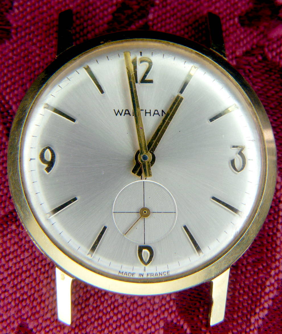 Vintage waltham france wrist watch id for Watches of france